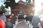 Autoridades municipales acuden a la tradicional Misa de Ánimas en el cementerio municipal Nuestra Señora del Carmen