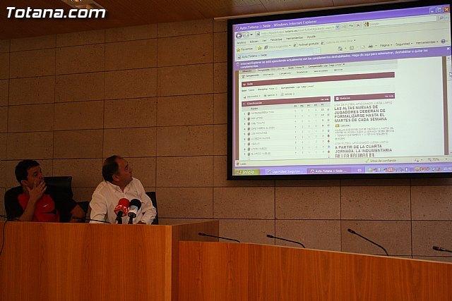 La concejalía de Deportes pone en marcha una página web, Foto 1