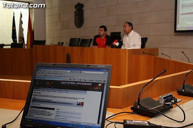 La concejalía de Deportes pone en marcha una página web, Foto 3