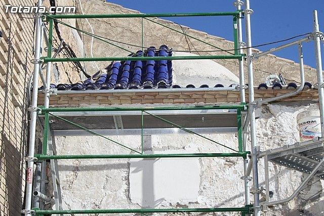 El ayuntamiento lleva a cabo las obras de rehabilitación del Templete de Santo Cristo, Foto 1
