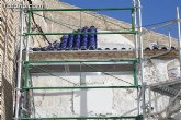 El ayuntamiento lleva a cabo las obras de rehabilitación del Templete de Santo Cristo