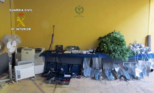 La Guardia Civil desmantela un punto de producción de marihuana en Librilla, Foto 3