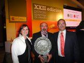 La Ministra de Medio Ambiente, Rosa Aguilar, entregó en la noche del pasado jueves el premio Alimentos de España a COATO - 16