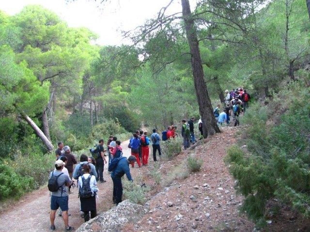 Nueva ruta del Club Senderista de Totana por el paraje de las Alquerías, Foto 1