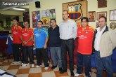 Presentación equipo de Tenis de Mesa patrocinado por la Peña Barcelonista de Totana