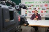 IU+LV ofreció una rueda de prensa para hacer balance de la actualidad política municipal