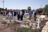 El Jardín de la Memoria recuerda a los caídos en guerras