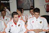 Autoridades municipales realizan una recepción oficial a la Selección Española de Fútbol-Sala sub-21 - 2