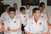 Autoridades municipales realizan una recepción oficial a la Selección Española de Fútbol-Sala sub-21 - 3