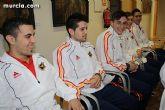 Autoridades municipales realizan una recepción oficial a la Selección Española de Fútbol-Sala sub-21 - 6