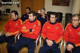 Autoridades municipales realizan una recepción oficial a la Selección Española de Fútbol-Sala sub-21 - 15