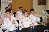 Autoridades municipales realizan una recepción oficial a la Selección Española de Fútbol-Sala sub-21 - 20