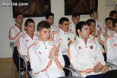 Autoridades municipales realizan una recepción oficial a la Selección Española de Fútbol-Sala sub-21 - 19