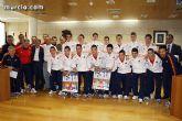 Autoridades municipales realizan una recepción oficial a la Selección Española de Fútbol-Sala sub-21 - 22