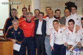 Autoridades municipales realizan una recepción oficial a la Selección Española de Fútbol-Sala sub-21 - 23