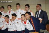 Autoridades municipales realizan una recepción oficial a la Selección Española de Fútbol-Sala sub-21 - 27