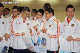 Autoridades municipales realizan una recepción oficial a la Selección Española de Fútbol-Sala sub-21 - 29