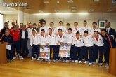 Autoridades municipales realizan una recepción oficial a la Selección Española de Fútbol-Sala sub-21