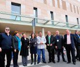El alcalde visita el Hospital de Santa Lucía
