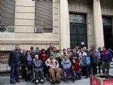 MIFITO participó en la concentración en San Esteban contra los recortes de subvenciones de la Comunidad Autónoma