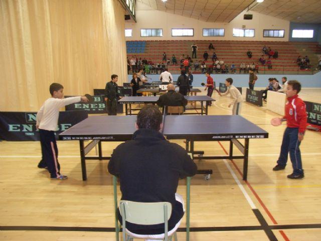 Un total de 78 escolares participaron en el torneo de tenis de mesa de Deporte Escolar, Foto 3