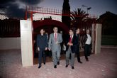 Inaugurada la remodelación de las pistas del Polideportivo Municipal de Mazarrón, que llevará el nombre del totanero Jesús Cánovas Valenzuela - 13