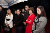 Inaugurada la remodelación de las pistas del Polideportivo Municipal de Mazarrón, que llevará el nombre del totanero