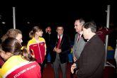 Inaugurada la remodelación de las pistas del Polideportivo Municipal de Mazarrón, que llevará el nombre del totanero Jesús Cánovas Valenzuela - 43