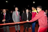 Inaugurada la remodelación de las pistas del Polideportivo Municipal de Mazarrón, que llevará el nombre del totanero Jesús Cánovas Valenzuela - 46