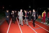 Inaugurada la remodelación de las pistas del Polideportivo Municipal de Mazarrón, que llevará el nombre del totanero Jesús Cánovas Valenzuela - 49