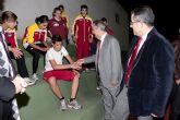 Inaugurada la remodelación de las pistas del Polideportivo Municipal de Mazarrón, que llevará el nombre del totanero Jesús Cánovas Valenzuela - 52
