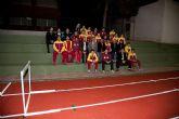 Inaugurada la remodelación de las pistas del Polideportivo Municipal de Mazarrón, que llevará el nombre del totanero Jesús Cánovas Valenzuela - 57