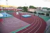 Inaugurada la remodelación de las pistas del Polideportivo Municipal de Mazarrón, que llevará el nombre del totanero Jesús Cánovas Valenzuela - 65