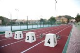 Inaugurada la remodelación de las pistas del Polideportivo Municipal de Mazarrón, que llevará el nombre del totanero Jesús Cánovas Valenzuela - 70