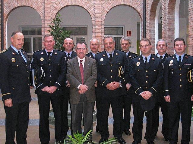 Manuel Campos se reúne con el presidente de la Asociación de Jefes de Policía Local de la Región de Murcia, Foto 1