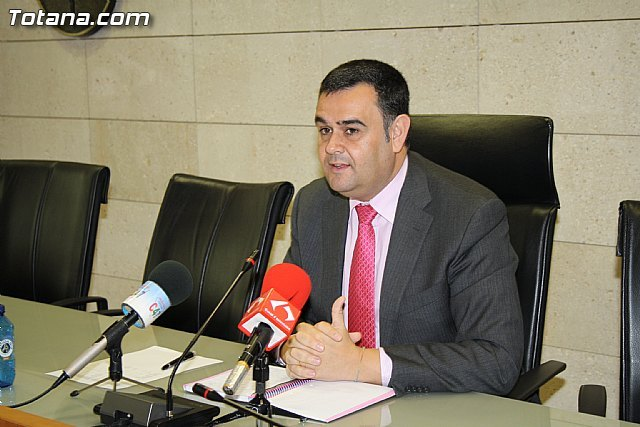 Rueda de prensa del alcalde de Totana sobre actualidad política municipal, Foto 2