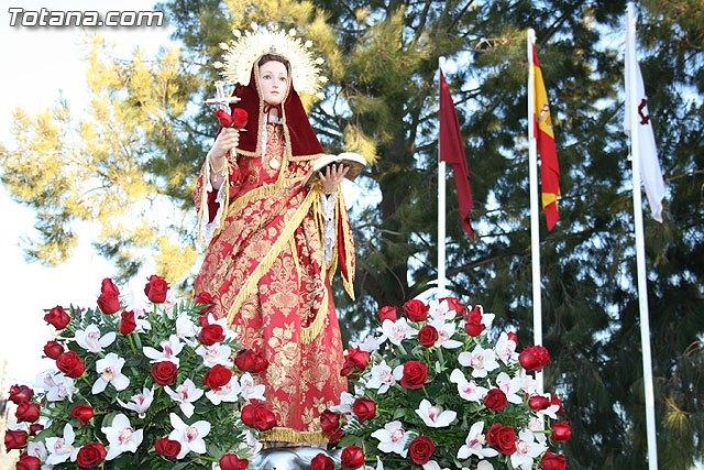 La tradicional Romería que se celebra en honor a Santa Eulalia será la imagen de un cupón de la ONCE el 7 de enero de 2012, Foto 1