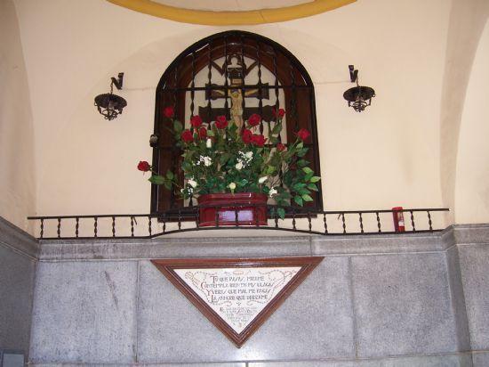 Autoridades municipales y eclesiásticas inaugurarán el próximo jueves el templete de Santo Cristo, Foto 1
