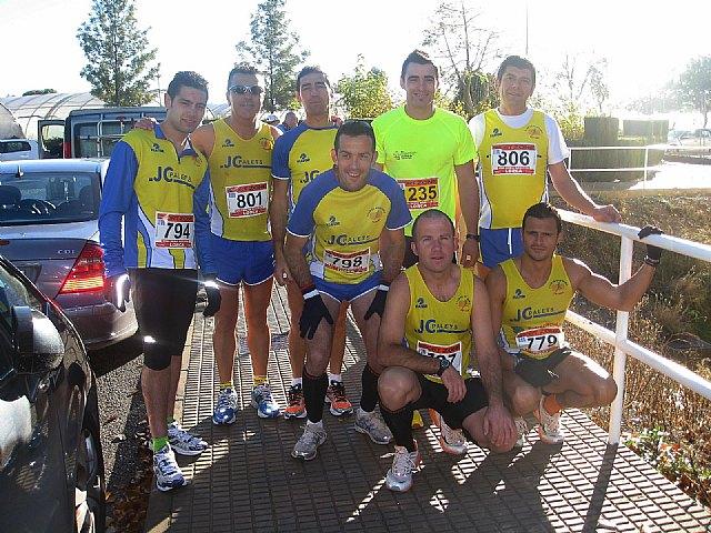 Juan Francisco García, del JPC, sube al podium en la Media Maratón Ciudad de Lorca, Foto 1