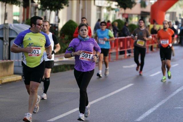 Juan Francisco García, del JPC, sube al podium en la Media Maratón Ciudad de Lorca, Foto 2