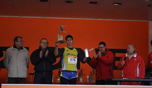 Juan Francisco García, del JPC, sube al podium en la Media Maratón Ciudad de Lorca, Foto 4