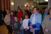 Autoridades municipales asisten a la primera misa que se celebra en honor a Santa Eulalia en el municipio