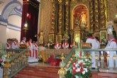 El obispo de la Diócesis de Cartagena preside la concelebración eucarística en honor a Santa Eulalia en el día de su onomástica