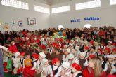 Los escolares ultiman sus trabajos de navidad