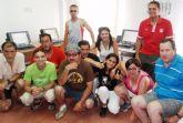 Un total de 17 usuarios del Servicio Municipal de Apoyo Psocisocial participan en un curso de informática del proyecto RAITOTANA