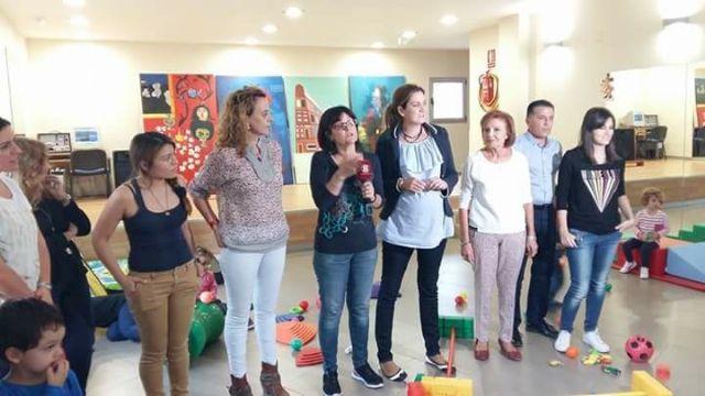 Fiesta bienvenida a los usuarios del servicio municipal de Atención Temprana en sus nuevas dependencias del Llano del Barco - 2, Foto 2