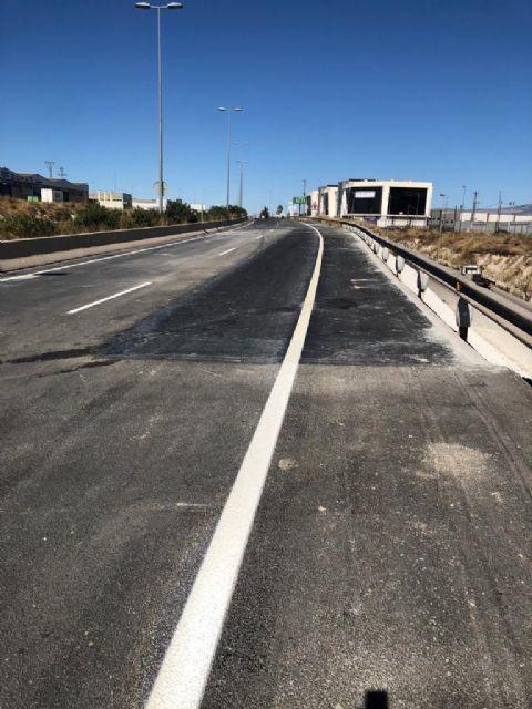 Abre al tráfico el tramo de N-301 donde el Ayuntamiento de Molina de Segura ha llevado a cabo obras de reparación por daños provocados por la DANA de septiembre de 2019 - 1, Foto 1