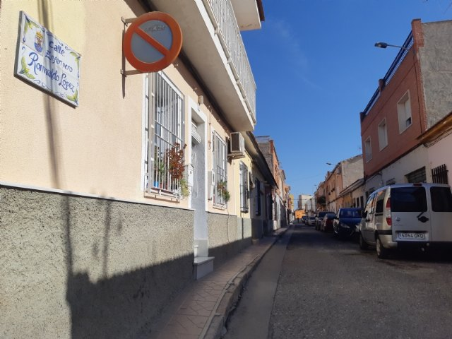 The project for the renovation of services and paving on Romualdo López Cánovas street is approved, Foto 3