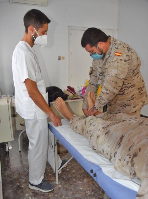 fisioterapeutas en las FAS