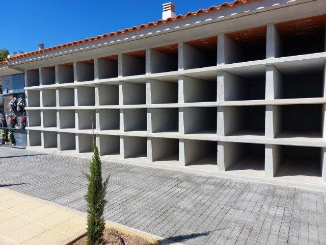 """Finalizan las obras de construcción de 40 nuevos nichos en el Cementerio Municipal """"Nuestra Señora del Carmen"""""""
